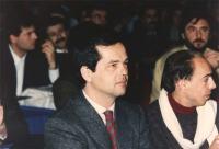 ritratto di Davide Grassi, figlio di Libero Grassi ucciso dalla mafia per racket nel 1991, al 36° congresso PR I sessione 1651bis