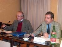 Sala del Campidoglio. I rapresentanti di Italia, Germania, Francia, Olanda, Belgio e Lussemburgo firmano il patto di Roma. Nasce l'Euratom da cui pren