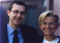 Benedetto Della Vedova (candidato della lista Bonino alla presidenza della regione) insieme a Emma Bonino.