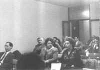 5° Congresso del PR. Primo a sinistra: Giuliano Rendi.