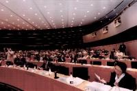 3° Seminario Europeo sul Tibet al Parlamento Europeo. Veduta della platea.