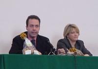 """Francesco Di Maio (già capo della Narcotici) e Rita Bernardini al convegno antiproibizionista sulla scienza e sulla droga dal titolo """"Caro proibizioni"""