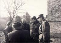 Marco Pannella, Olivier Dupuis e altri, in divisa croata.