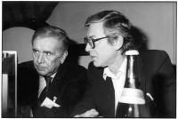 Enzo Tortora ed Emilio Vesce, al 32° Congresso del PR.