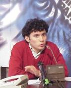 Conferenza stampa al termine di un digiuno di dialogo con il Ministro della Sanità Veronesi, durato 10 giorni e compiuto da tre militanti radicali (Ma