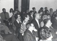 7° Congresso straordinario del PR. Vista della platea.