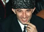 Il presidente ceceno Aslan Maskhadov.