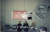 3° Congresso dell'ERA (Associazione radicale esperantista). Al centro: Giorgio Pagano.