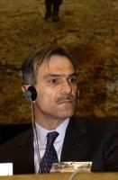 Ylias Akhmadov, ministro degli Affari Esteri della repubblica cecena, ospite del 38° Congresso del PR.