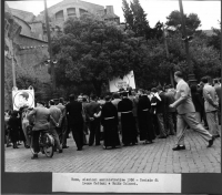 Elezioni amministrative. Comizio di Leone Cattani e Guido Colucci.