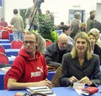 Ottavio Marzocchi e Christina Sponsa al Secondo Congresso dei Radicali Italiani.