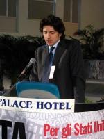 6° Congresso italiano del PR. Alla tribuna: Marco Cappato.
