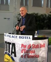 6° Congresso italiano del PR. Alla tribuna: Sergio D'Elia.