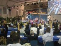 Terzo Congresso dei Radicali Italiani. La votazione della mozione generale.